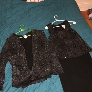 GREAT CONDITION: OLDER WOMAN DRESS SET